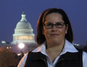 NEWYORICANGIRL at the U.S. Capitol