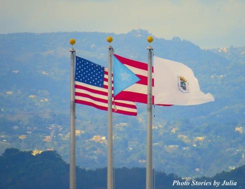 La Fortaleza Flags